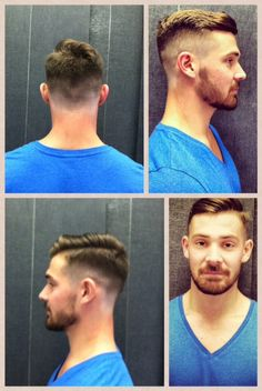 Haircut.     Modern Men's cut by Cloud 9 Salon Stylist Kenny Joubert