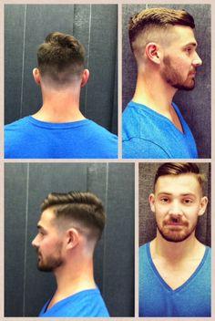 Haircut. Modern Men's cut by Cloud 9 Salon Stylist Kenny Joubert