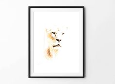 Lion poster, Lion art, Animal Wall Art, Digital Download Poster, Pencil drawing, Home Decor, Set of 5 JPG, Artwork, Picture, 18x24, Leo by BFWorkroom on Etsy