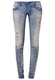Diesel GRUPEE Jeans Slim Fit in hellblau @Zalando