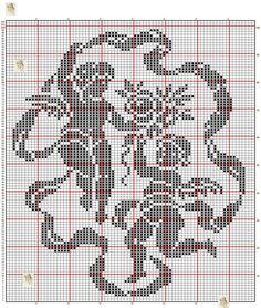 Crochet Skull Patterns, Cross Stitch Patterns, Crochet Placemats, Crochet Doilies, Cross Stitch Silhouette, Crochet Angels, Cross Stitch Rose, Filet Crochet, Needlework
