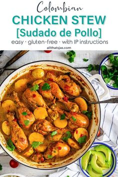 This Colombian chicken stew takes 30 minutes, but it tastes like it's been simmering for hours. Duck Recipes, Chili Recipes, Curry Recipes, Vegan Recipes, Chowder Recipes, Soup Recipes, Crockpot Recipes, Recipies, Colombian Dishes
