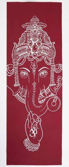 ૐ OM ૐ AUM ૐ Ganesha ૐ Image of Ganesh stone - yogamat by yoniyoga Ganesha Tattoo, Ganesha Art, Shri Ganesh, Lord Ganesha, Krishna, Namaste, God Tattoos, Ganesha Painting, Hindu Deities
