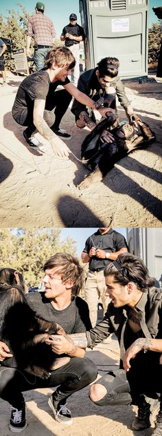 Louis & Zayn at Steal My Girl music video