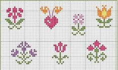 This Pin was discovered by Mür Tiny Cross Stitch, Free Cross Stitch Charts, Beaded Cross Stitch, Cross Stitch Borders, Cross Stitch Flowers, Cross Stitch Designs, Cross Stitching, Cross Stitch Embroidery, Embroidery Patterns