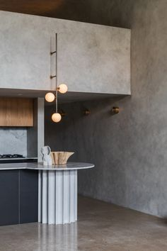 Residential interior design - Perfect Storm A Camperdown Apartment Inspired by Brutalism – Residential interior design Kitchen Interior, Kitchen Design, Open Plan Apartment, Custom Kitchens, Residential Interior Design, Brutalist, Kitchen Flooring, Wood Design, Kitchen And Bath