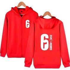 2e614e27c6f9 Rainbow six siege Hoodies and Sweatshirts Zip up Winter Warm Sweatshirts  Coats Harajuku Hoody Sweatshirts Men