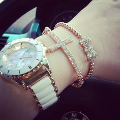 Rose Gold Arm Candy, want want want!