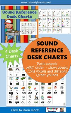 The 4 Sound Reference Charts provide a visual reference to connect letters and sounds... a comprehensive resource for both staff and students!