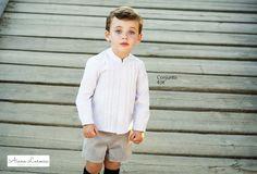Conjunto para niño ya disponible en http://aianalarocca.com/ #modainfantil