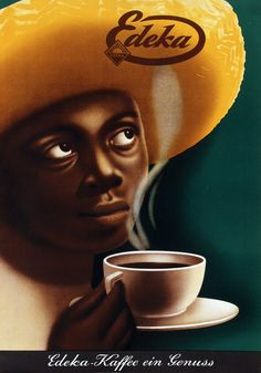 Poster by Leo Keck - Edeka Kaffee – 1935. Leo Keck 1906-1987