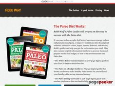 Product Name: Paleo Diet Guides from Robb Wolf   Click here to get Paleo Diet Guides from Robb Wolf at discounted price while it's still available…    All orders are protected by SSL encryption – the highest industry standard for online security from trusted vendors.  Paleo Diet G...