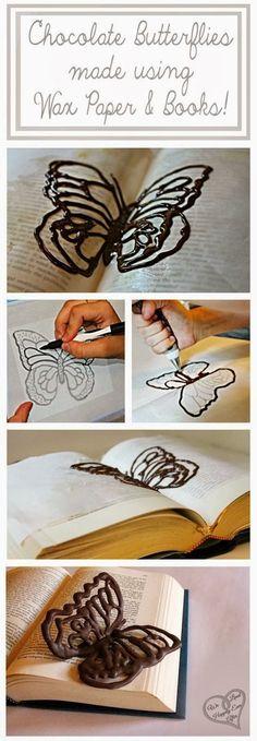 Chocolate Butterflies                                                       …