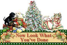Christmas glitter gifs