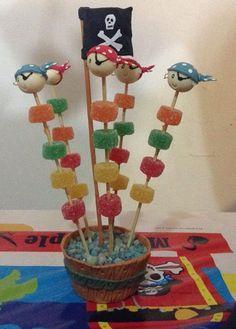 Fiesta Pirata. Pinchos gomitas