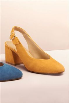 Must-have shoes for women with timeless suede & leather, while wedges make for a versatile addition. White Pumps, Nude Pumps, Leather Wedges, Suede Leather, Baskets, Slingback Shoes, Shoe Closet, Spring Fashion, Footwear