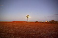 Outback Windmill, Boulia, Queensland.