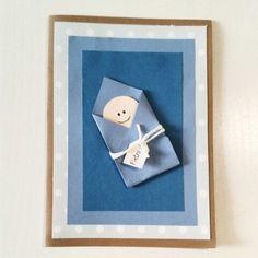 Congratulations baby boy card