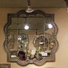 Wall Mirror Black Frame Eagan Multi 25 Panel Wall Mirror