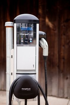 Inman Family Wines Charging Station