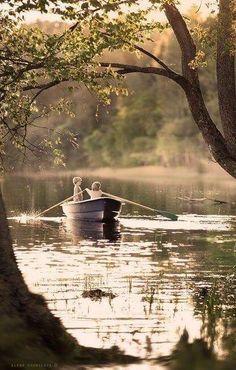 Когда в сердце живёт любовь, в нем нет страха и весь мир принадлежит тебе.