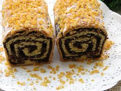 Makowiec Bogusi Eastern European Recipes, Polish Recipes, Strudel, Rustic Christmas, Eat Cake, Sweet Tooth, Cooking Recipes, Sweets, Bread