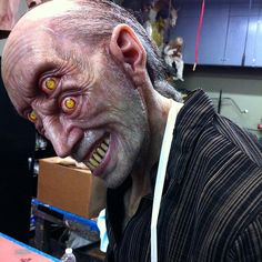 """Love this piece by Patrick Magee aka @mageefx #mageefx #specialfx #scupture #silicone #makeupfx #creepy #monsterpalooza #monsterfx #specialmakeupeffects…"""