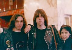 Johnny Ramone and fans
