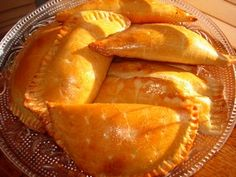 Filled with beef, chicken, cheese or guava as a dessert