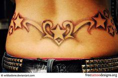 Tribal Hip Tattoos For Girls   Feminine Tattoos   Tattoo Designs For Girls and Women