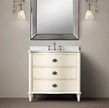 Best Home S Bathrooms Images On Pinterest Arquitetura - 1920s bathroom vanity