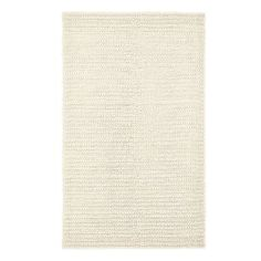 Textured Wool Rug, Natural Please Select Size: 8 x 10' $499 -- OR could be good for just about any room (bedroom, guest room, living room, etc.)