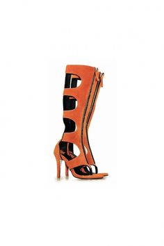 Talking With Tami Atlanta Style Blogger wants to know what you think about these Jimmy Choo boots! I love it, even in orange