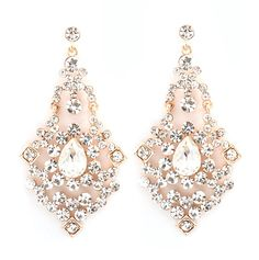 Capri Chandelier Earrings in Gold