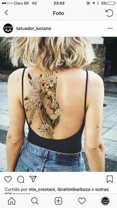 the most beautiful modeled tattoos for women- die schönsten modellierten Tätow. the most beautiful modeled tattoos for women- the most beautiful mod Tattoo Girls, Girl Tattoos, Tattoos For Women, Pretty Tattoos, Love Tattoos, Beautiful Tattoos, Leo Lion Tattoos, Dragon Tattoos, Piercing Tattoo