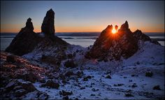 The crack of dawn, Isle of Skye. by McRusty on Flickr.