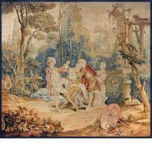 "Beauvais XVIII i""Garden Games"""