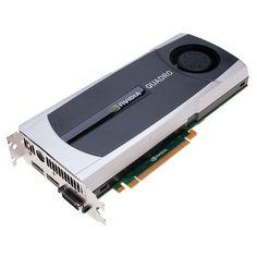 6GB nVIDIA Quadro 6000 DDR3 2xDVI PCI-Express VCQ6000-PB Graphics Card