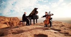 1.- Contact The Piano Guys for a concert. 2.- Go to a concert.