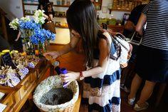 在薰衣草森林製作薰衣草香包,是屬於自己的DIY作品。/來源:Travel with Stella*
