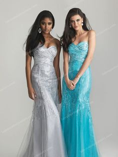 Blue Night Moves 6718 Sparkling Strapless Prom Dresses Cheap [Night Moves 6718] - $180.00 : Juniors' Dresses | Cheap Prom Dresses 2014| Homecoming Dresses Discount