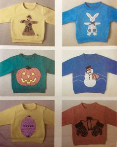 McCall's 4571 UNCUT Fun and Fancy Sweatshirt Appliques by Lonestarblondie on Etsy