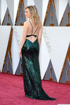 Saoirse Ronan Oscars 2016: Brooklyn Actress Glitters In Calvin Klein Collection Gown