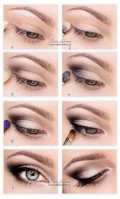 макияж глаз нависшее веко   Макияж глаз