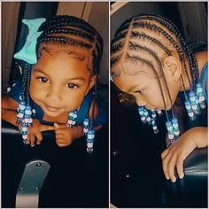 Long Box Braids: 67 Hairstyles To Upgrade Your Box Braids - Hairstyles Trends Little Girl Braid Hairstyles, Toddler Braided Hairstyles, Toddler Braids, Black Kids Hairstyles, Little Girl Braids, Baby Girl Hairstyles, Natural Hairstyles For Kids, Braids For Kids, Natural Hair Styles