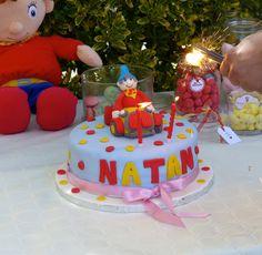Sweet Table Oui-Oui / Sweet Table Noddy Oui Oui Birthday Cake Noddy Cake