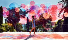 paul cocksedge colorizes istanbul with turkish   british flag palette - designboom | architecture