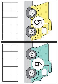 Picture Preschool Printables, Kindergarten Math, Math Activities, Preschool Activities, Transportation Worksheet, Transportation For Kids, Construction Theme Preschool, Math Groups, Montessori Math