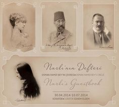 The+guestbook+of+Nazlı+Hamdi,+the+daughter+of+Osman+Hamdi+Bey+-the+famed+artist,+archaeologist+and+the+founder+of+the+Imperial+Museum+(Müze-i+Hümayun