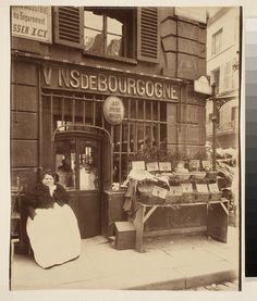 Au Port Salut - Cabaret Rue des Fosses St. Jacques (5e) by Eugene Atget, George Eastman House, via Flickr